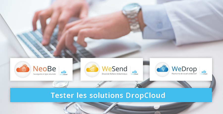 tester les solutions dropcloud