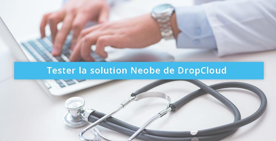 tester la solution Neobe de dropcloud pour l'hébergement des données