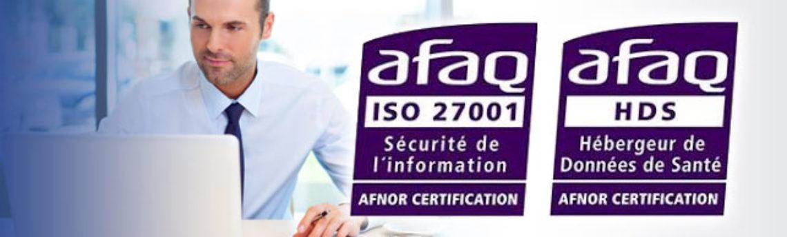 Communiqué de presse : DropCloud obtient la certification ISO 27001-HDS